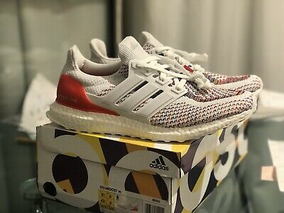 52c003cd2 Adidas Ultra Boost 2.0 Multi Colour Rainbow Uk 9 New With Box Tags Run  Sneakers