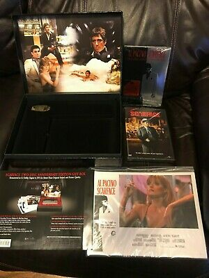 Al Pacino Scarface Collector's Two-Disc Anniversary Special Edition DVD Box Set