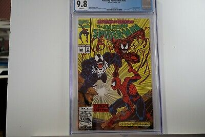 Amazing Spider-Man #362 Cgc 9.8 White Pages 2Nd Appearance Carnage , Venom