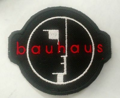 Bauhaus Embroidered Patch IRON/SEW ON Goth Sisters of Mercy The Cure The Smiths