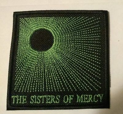 Sisters of Mercy Embroidered Patch IRON ON or SEW ON The Cure USA Seller grn
