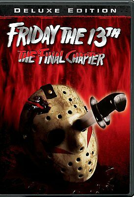 NEW Friday the 13th Part 4 Final Chapter DVD 1984 MOVIE iv JASON DELUXE EIDITION