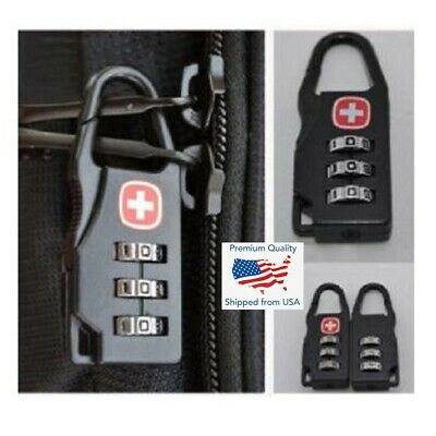 3 Digit Mini Code Metal Combination Travel Luggage Lock Padlock Password Sport