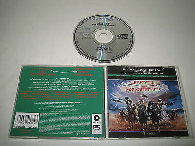 The Return of the Musketeers/Soundtrack/Jean Claude Petit (Milan / CD Ch 383) CD