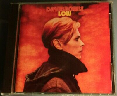 David Bowie Low CD Ryko RCD 10142 Rykodisc Bonus Tracks