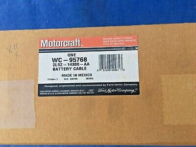 BRAND NEW OEM BATTERY POSITIVE /& NEGATIVE CABLE FORD FOCUS #2M5Z-14300-BA