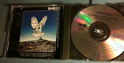 DAVID BOWIE - Labyrinth 1986 Soundtrack CD Trevor Jones RARE OOP USA EMI OST