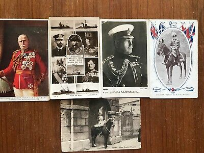 WW1 Military postcards x 6 all used have stamps. 527a