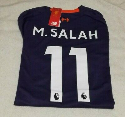 8fef20f9b Mohamed Salah Liverpool 'away' Soccer Jersey 2018-19 #11 purple player fit