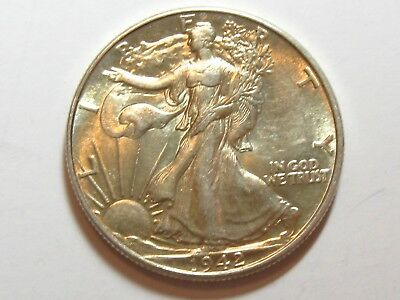 1942 Liberty Walking Half Dollar - UNCIRCULATED - #2167