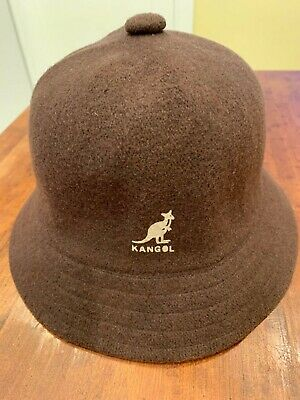 e6d88773e43 UNMARKED KANGOL ARTISAN Casual Bucket Hat-Amarillo Navy-Large-NWOT ...