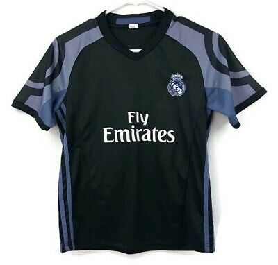 size 40 09c36 8f1d5 REAL MADRID RONALDO #7 Jersey Kids Youth Size 10