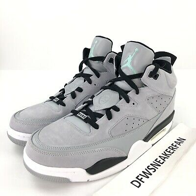 9a25eb6fa962 Nike Air Jordan Son Of Low Men s 12  Wolf Grey  Emerald Suede Shoes 580603