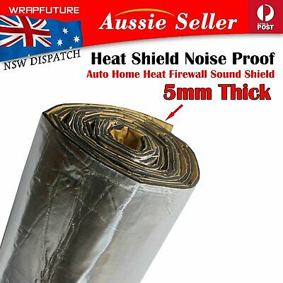 5mm Heat Shield Soundproof Noise Deadener Thermal Insulation Car Home Wall Roof