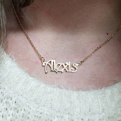 STERLING SILVER PERSONALIZED Soccer Jersey Necklace |Name