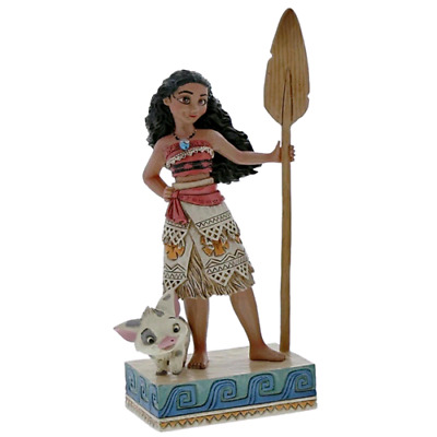 "Disney Tradition Statuina "" Find Your Own Way (Moana Figurine) "" 4056754"