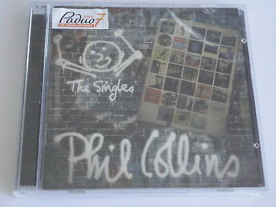 Phil Collins - The Singles (2CD) (2016) Brand New, Sealed, Multipage Booklet
