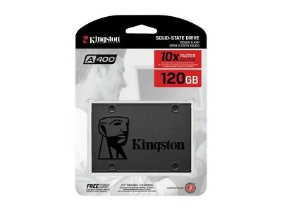 Kingston A400 120GB 240GB 480GB Series SATA 3 2.5Inch SSD Read 500MB/s lot
