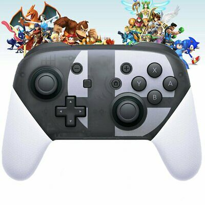 Wireless Bluetooth Pro Controller Gamepad For Nintendo Switch Super Smash Bros.