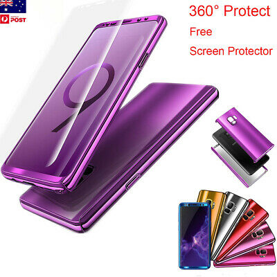 Mirror Shockproof Full Body 360 Case Cover Fr Samsung Galaxy S10/S9/S8 Plus S10e