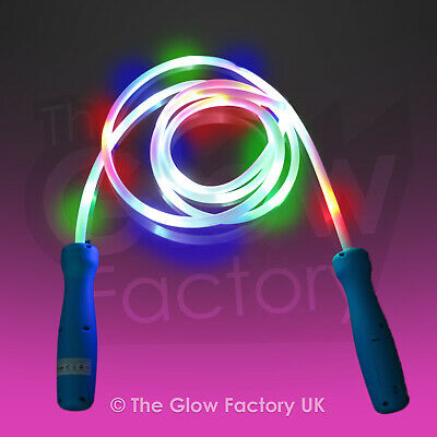 Light up Skipping Rope Toy - Skipping Rope With Colourful LED lights lot