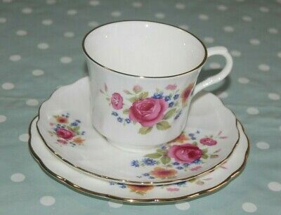 Vintage, Retro China Trios, Cup, Saucer Side Plate. Choose From An Assortment.