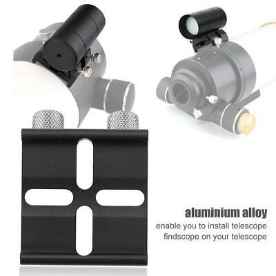Telescope Finderscope Dovetail Slot Mount Base Plate for Telescopes Celestron AU
