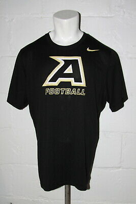 EUC Nike Dri Fit Army West Point Black Knights Football Athletic T Shirt Sz  XL c72fb3fed