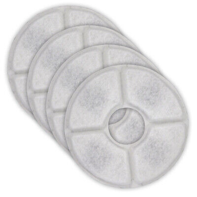 Pet Water Fountain Filter Pads with Active Carbon Cat Dog Flower Aquacadabra