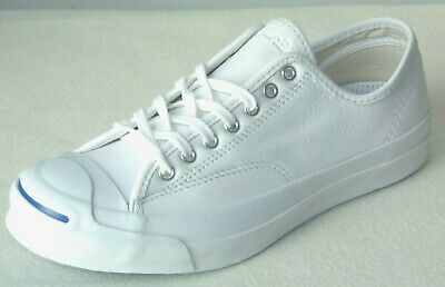 8dcee0c3be70d9 Converse Jack Purcell Premium White Leather Ox Sneakers Style  149909C  Size  11