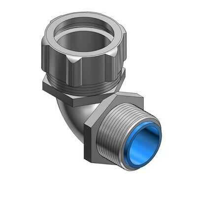 Thomas and Betts Shureseal T&B 9354TB 1 Inch 90 Degree Liquidtight Connector