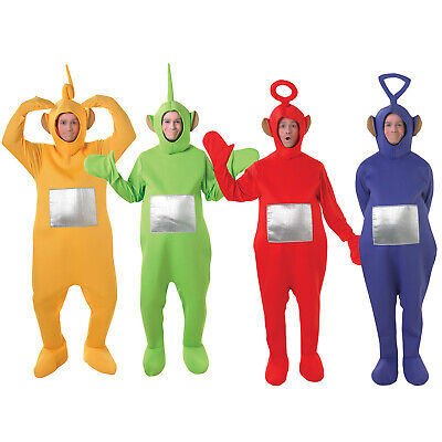 Rubies Adults Official Teletubbies Unisex Party Book Week Fancy Dress Costume