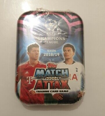 Topps MATCH ATTAX Champions LEAGUE 2018/19 Trading Card Game NUEVO