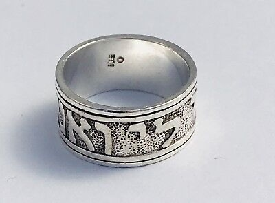 618bf47f885d6 JAMES AVERY STERLING Silver Song Of Solomon Ring Size 7 1/2 - $65.00 ...