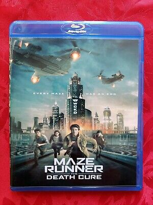 MAZE RUNNER: THE DEATH CURE on Blu-Ray + Digital HD / From 4K Ultra HD Combo pac