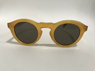 d4cf81a2a1a Celine CL 41370 S PD9 70 Retro Yellow Opal Sunglasses Made in Italy  Authentic