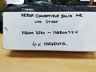 Compatible Xerox Magenta Solid Wax Ink Sticks - 4 Pack (108R00724) - Clearance