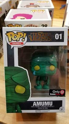 Funko Pop League Legends Amumu 01 Gamestop Exclusive W/protector