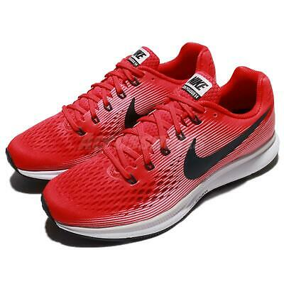 the latest dc7f6 78d19 Nike Air Zoom Pegasus 34 Speed Red Black Men Running Shoes Sneakers  880555-602