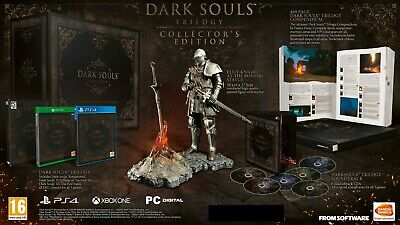 Dark Souls Trilogy Collector's Edition PS4 + Elite Knight Statue EU IMPORT