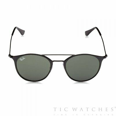 296e57d6db Ray-Ban Steel Frame Green Classic Lens Unisex Sunglasses 0RB3546-186-52