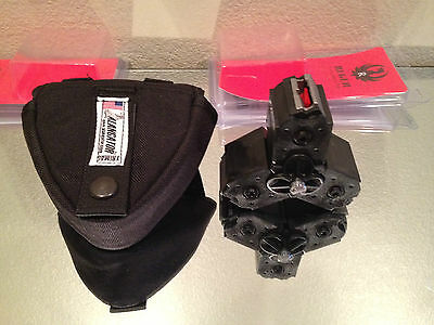 3 Fits Ruger AMERICAN RIMFIRE CLEAR Magazines .22lr Mags Pouch Alangator 10RD 22