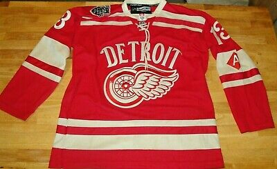 Pavel Datsyuk 2014 Winter Classic Detroit Red Wings Reebok Authentic Jersey  New 24f45ee3a
