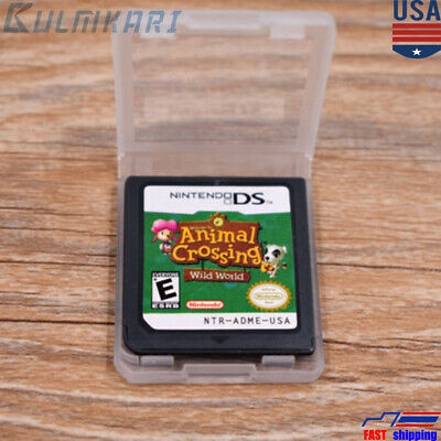 Animal Crossing: Wild World Nintendo DS Game Card  for DS / DSi / 3DS XL US VER