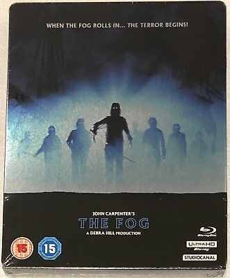 The Fog 4K Ultra HD Steelbook - UK Exclusive Limited Edition Blu-Ray