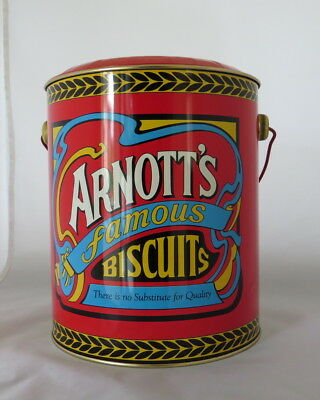 Arnott's Billy Can Empty Biscuit Tin
