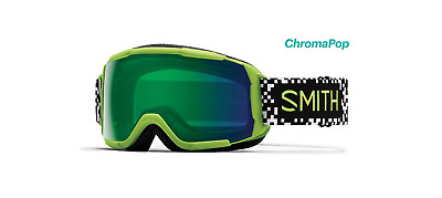 378460dc9845 Smith Optics Grom Snow Goggles - Flash Game Over  Chromapop Everyday Green  Mirro