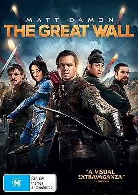 The Great Wall (DVD, 2017) NEW