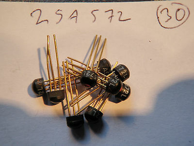 new old stock 2SC497 TRANSISTOR TO-39  NOS