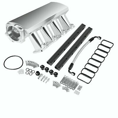 Aluminum 102mm Intake Manifold for GM LS3 V8 Chevrolet Pontiac HSV Holden Polish